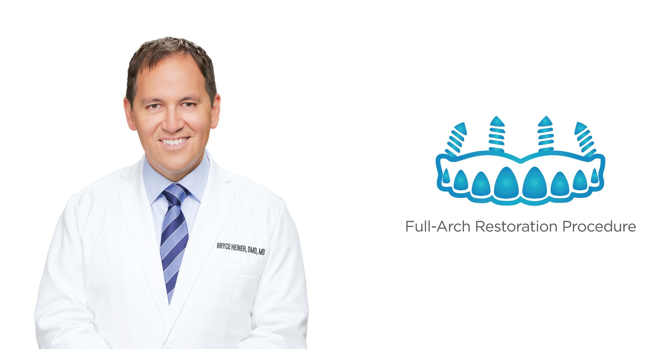 What is the full-arch restoration procedure in Las Cruces, NM?